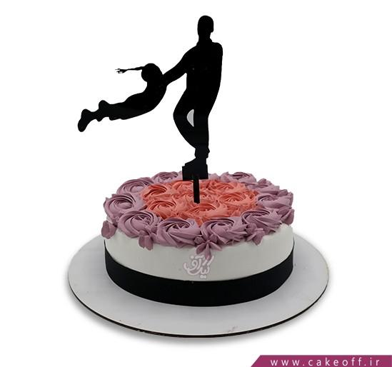 کیک روز پدر بهترین پدر دنیا