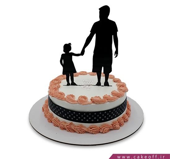 کیک روز مرد - کیک روز پدر آریا | کیک آف