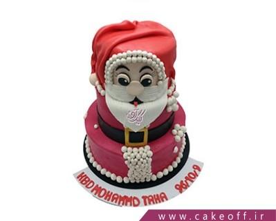 کیک فوندانتی - کیک بابانوئل سخاوتمند | کیک آف