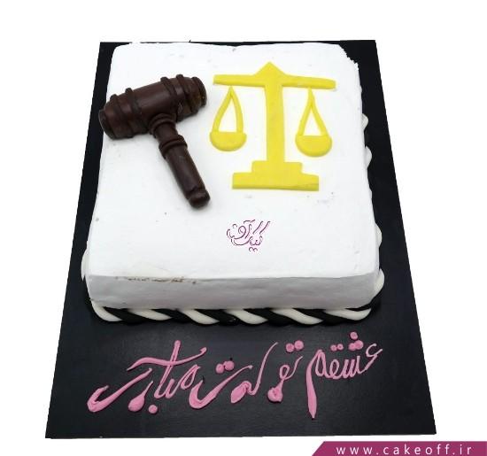 انواع کیک تولد - کیک دادگاه عشق | کیک آف