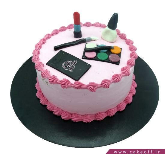 کیک زنانه - کیک لوازم آرایش ۷ | کیک آف