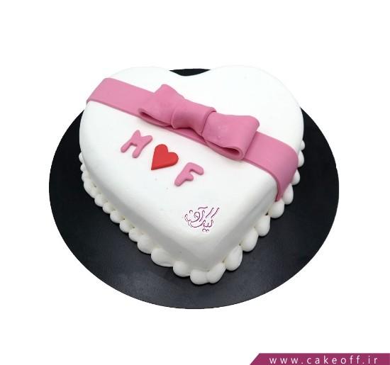 کیک قلب - کیک تولد عاشقانه - کیک قلبم را بپذیر | کیک آف