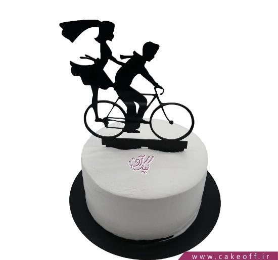 کیک تولد عاشقانه - کیک از اینجا تا ابدیت | کیک آف