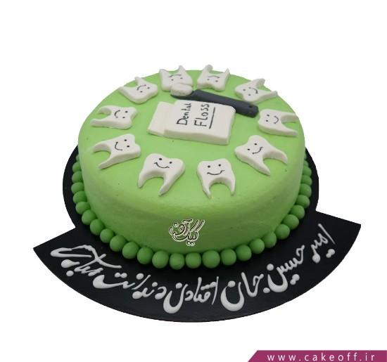 سفارش کیک تولد خاص - کیک جشن دندونی دندان شیری | کیک آف