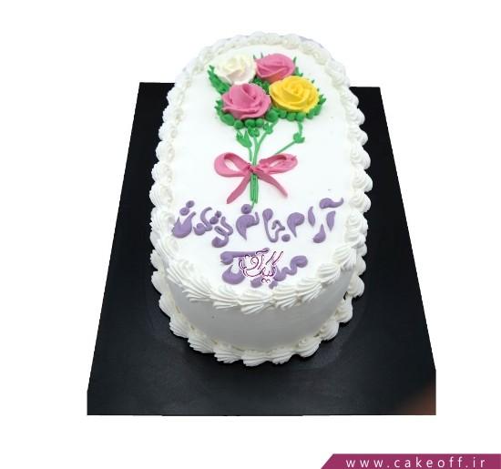سفارش آنلاین کیک تولد - کیک قاب خاطره | کیک آف