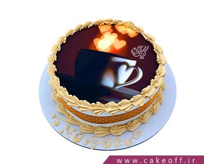 کیک تولد زیبا - کیک تولد خاص فنجان قهوه | کیک آف