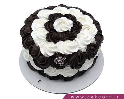 کیک خامه ای - کیک خامه پیچی | کیک آف