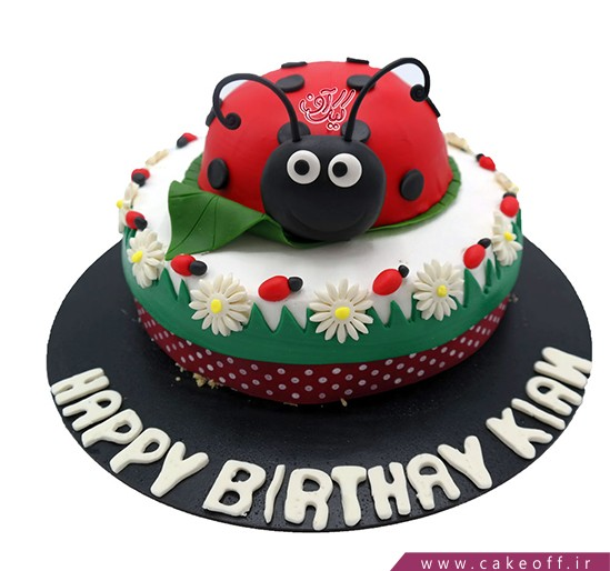 کیک عمو قناد و کفشدوزک زبل | کیک آف