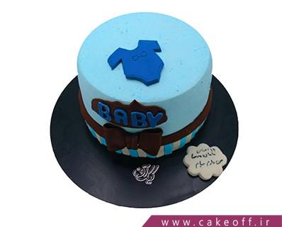 کیک تولد خاص - کیک تولد نوزاد شیرین | کیک آف