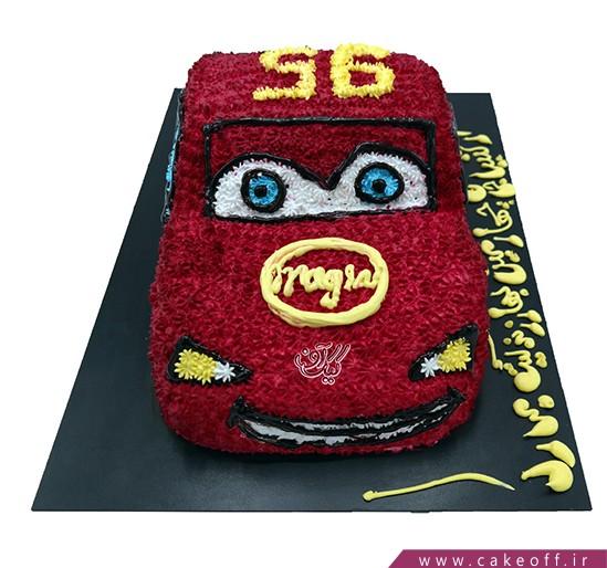 کیک ماشین - کیک تولد مک کویین ۳ | کیک آف
