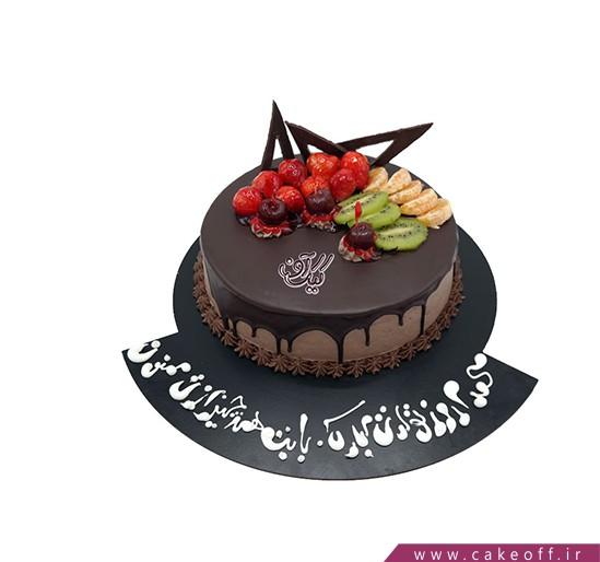 کیک با تزیین میوه - کیک میوه ای ۱۲ | کیک آف