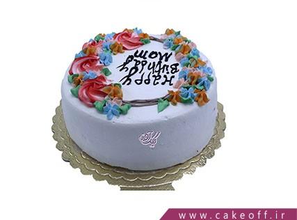 کیک تولد ساده و خوشمزه | کیک آف