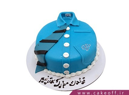 انواع کیک تولد - کیک تولد مردانه بهترین مرد | کیک آف
