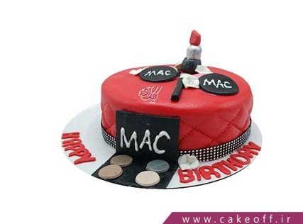 کیک فوندانتی لوازم آرایش ناتالی | کیک آف
