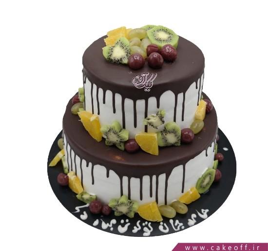 کیک نیوشا میوه ای