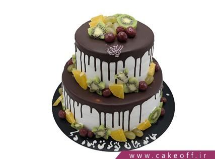 کیک نیوشا میوه ای | کیک آف