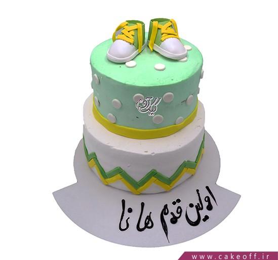 کیک اولین قدم هانا
