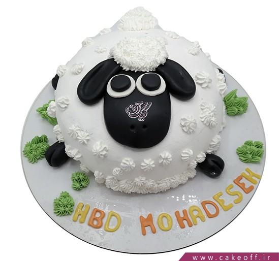 سفارش کیک انلاین - کیک حیوانات - کیک بره ناقلا ۱۴ | کیک آف