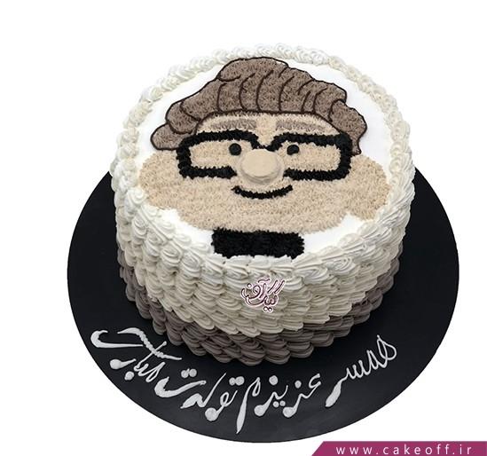 کیک کارتونی - کیک تولد کودک - کیک آقای فردریکسن | کیک آف