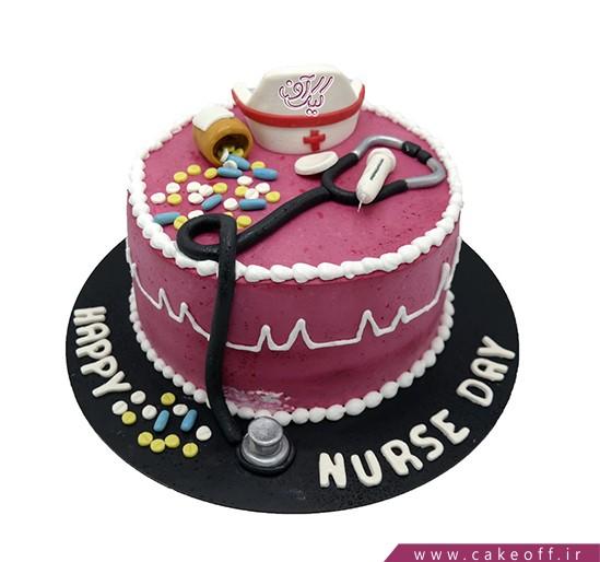 سفارش کیک روز پزشک - کیک پزشک مهربان | کیک آف