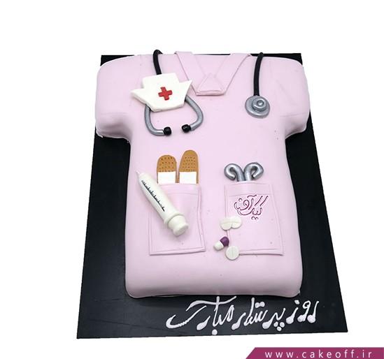 کیک روز پرستار - کیک جوروراوات | کیک آف