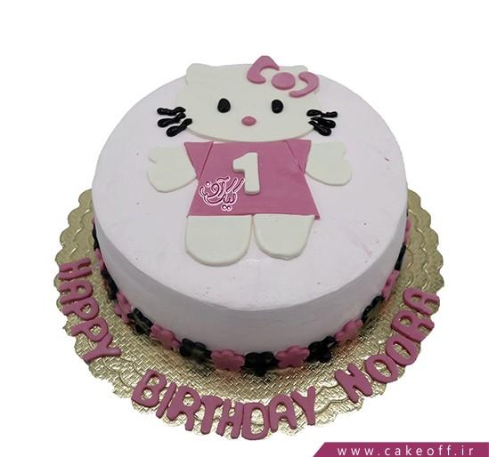 بهترین کیک تولد - کیک تولد کیتی چهار ساله | کیک آف