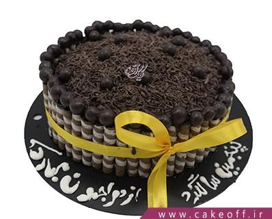 کیک تولد بی بی در باغ شکلات | کیک آف