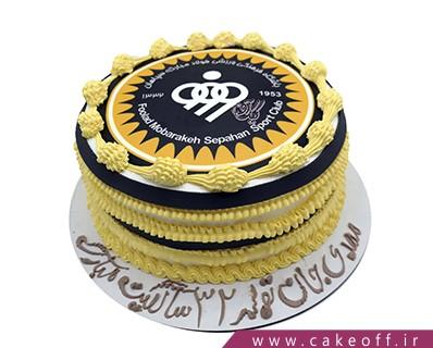 کیک تولد فوتبالی - کیک سپاهان ایران | کیک آف