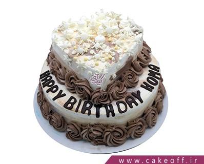 کیک تولد- عاشقانه قدم زدن زیر برف | کیک آف