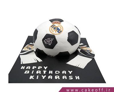 انواع کیک تولد - کیک رئال مادرید پر طرفدار | کیک آف