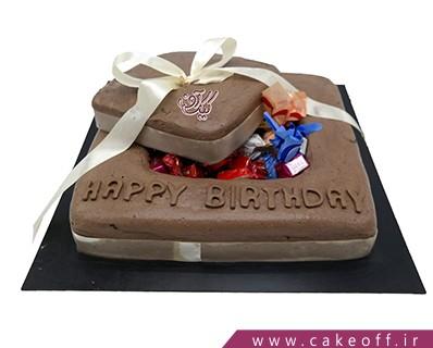 کیک کاکائویی - کیک شکلاتی جعبه خوشمزه | کیک آف