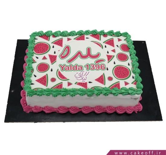 کیک بی بی یلدا | کیک آف
