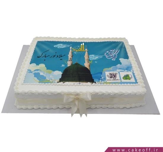 کیک تصویری - کیک تولد مذهبی میلاد نور | کیک آف