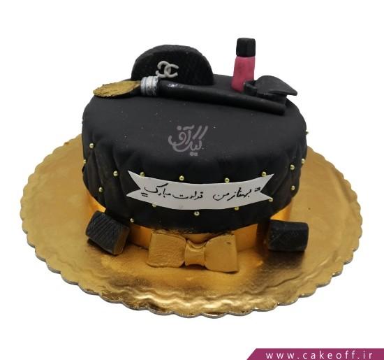 کیک دخترانه - کیک لوازم آرایش 22 | کیک آف