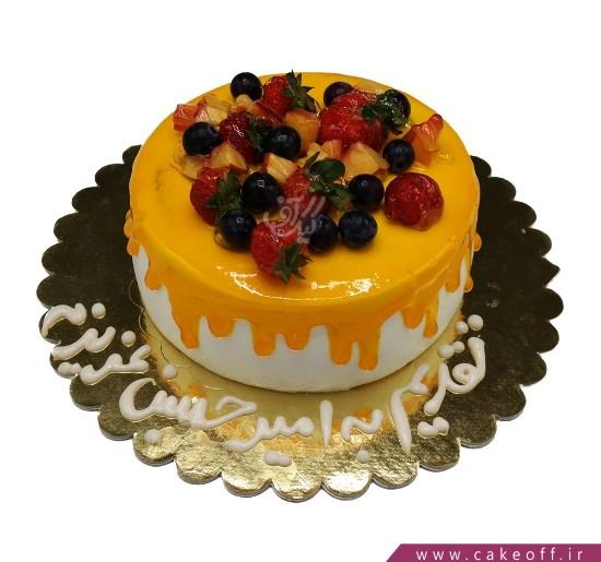 کیک با تزیین میوه - کیک میوه ای 6   کیک آف