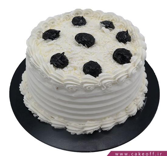 سفارش کیک آنلاین - کیک گرد آندلس | کیک آف