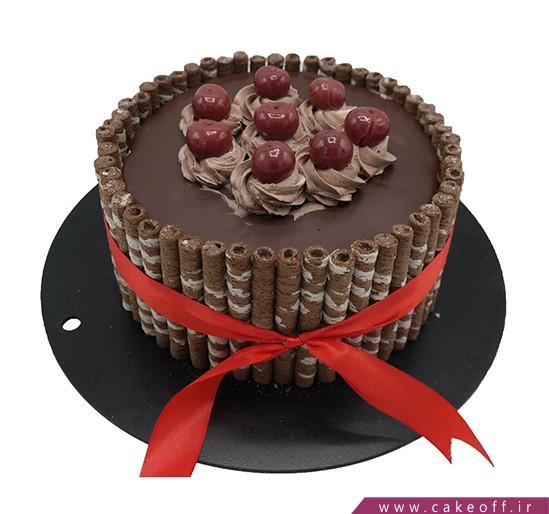سفارش اینترنتی کیک - سیگار برگ شکلاتی | کیک آف