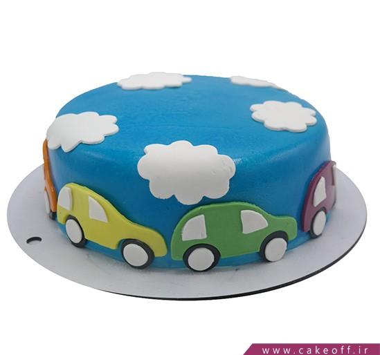 کیک تولد بچه گانه - کیک ماشین ها | کیک آف