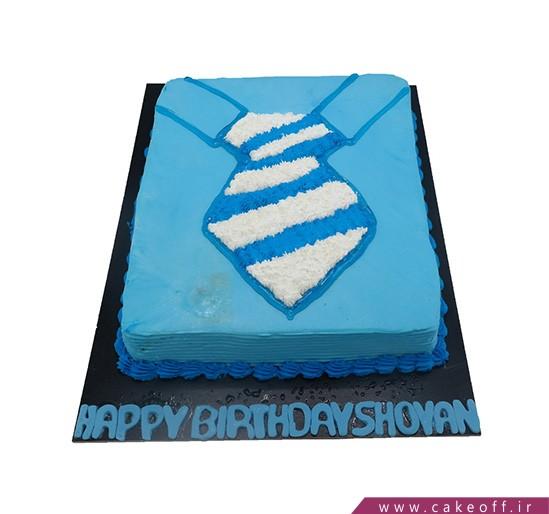 کیک پیراهن مردانه - کیک تولد مردانه - کیک مرد جنتلمن | کیک آف