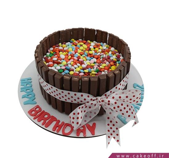 خرید کیک تولد زیبا - کیک اسمارتیزی | کیک آف