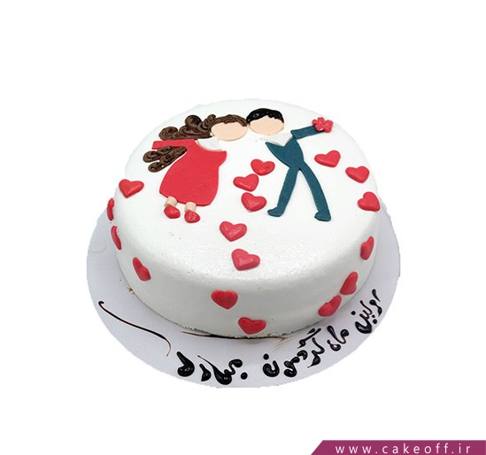 مدل کیک ولنتاین - کیک دلیار | کیک آف