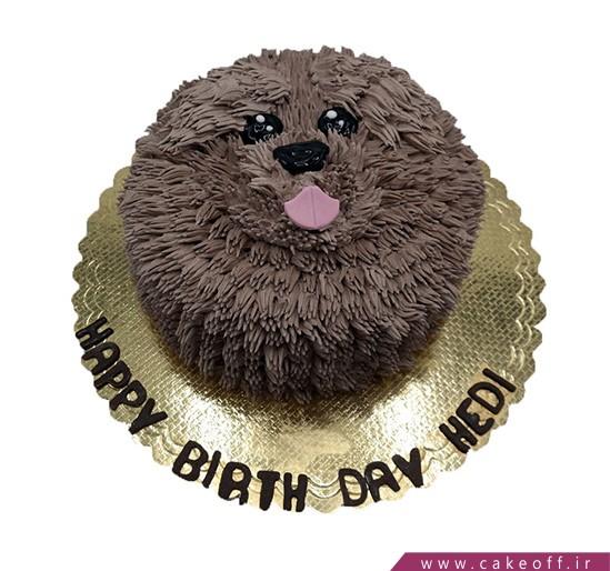 کیک سگ پشمالو | کیک آف