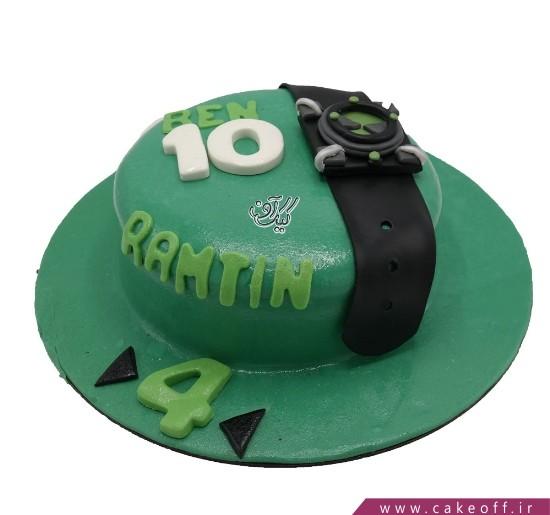 کیک تولد بن تن ۱۳ | کیک آف