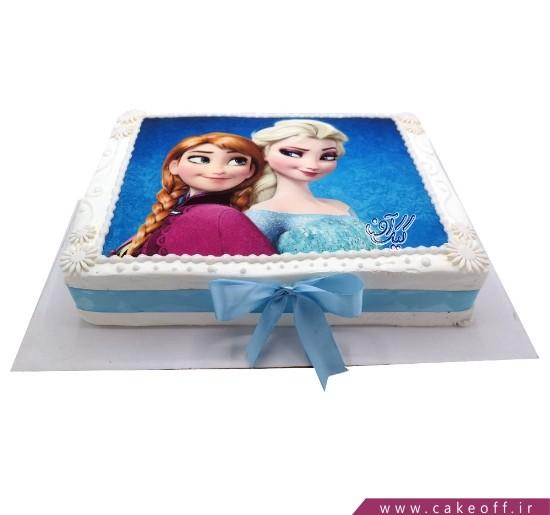 کیک السا و آنا در یک قاب | کیک آف