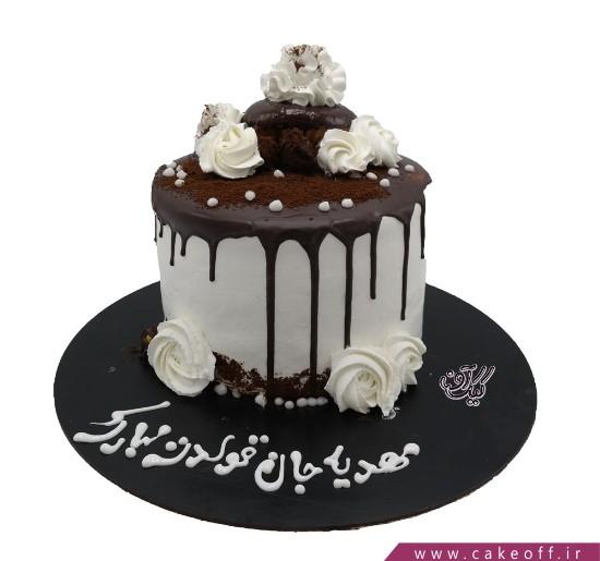 خرید کیک اینترنتی - کیک وانیک ۱ | کیک آف