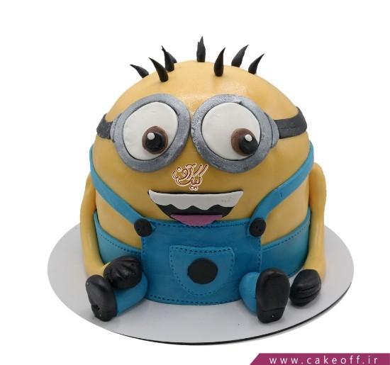 کیک مینیون نشسته | کیک آف