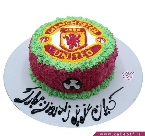 کیک تولد ورزشی - کیک منچستر یونایتد ۱ | کیک آف