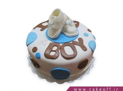 کیک تولد نوزاد - کیک جشن اولین قدم - کیک گام اول | کیک آف