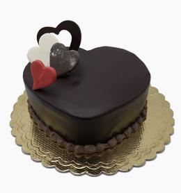 قلب شکلاتی