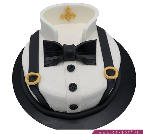 کیک پیراهن شیک